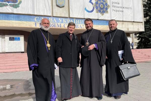 Керуючий єпархією взяв участь у першому засідання Київської обласної ради Церков і релігійних організацій
